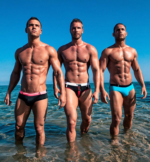 3 Guys in Speedos