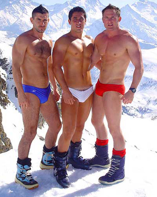 Speedos in the Snow