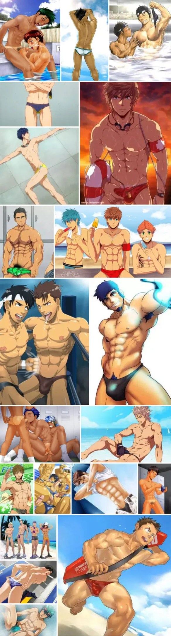 Speedo Anime