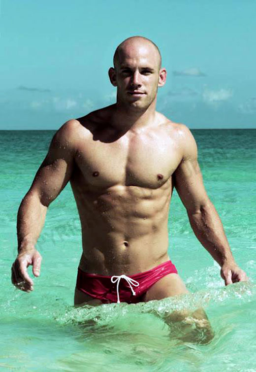 Darren Lockyer Red Speedo