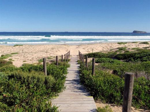 Birdie Beach - Nude Beach north of Sydney