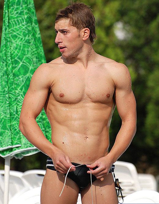 Hunky Speedo Guy