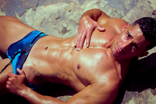 Fun Speedos on Hot Guy