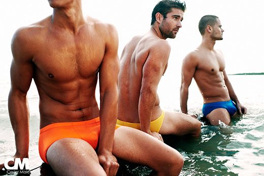 Cover Male Swimwear