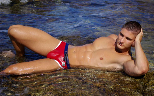 Red Speedo