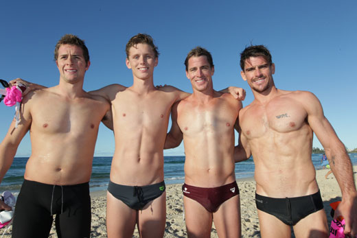 Speedo Friends at the Beach