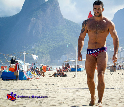 Speedos in Brazil