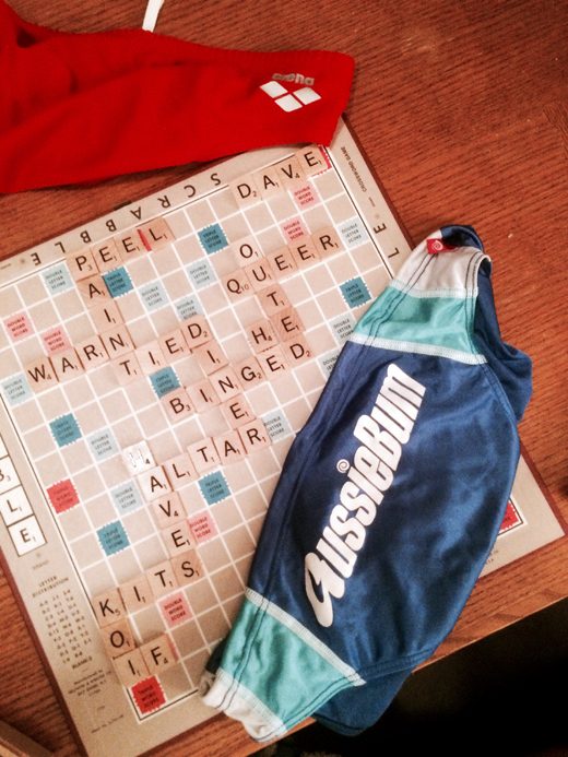 Strip Scrabble