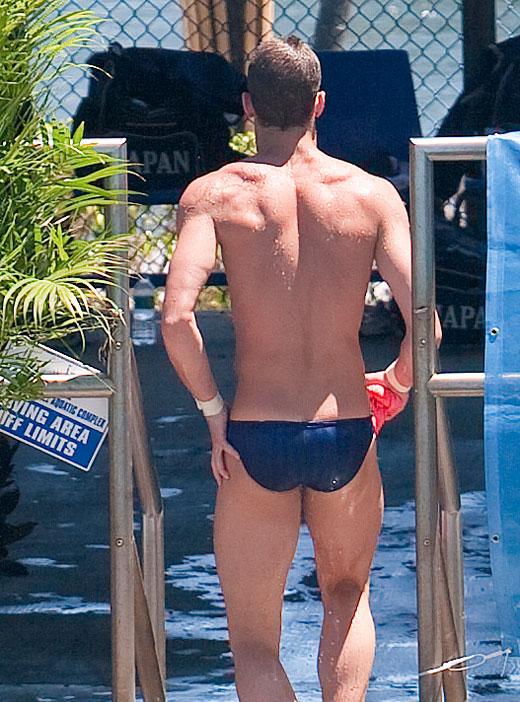Swimmer Butt