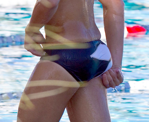 Waterpolo Players Butt