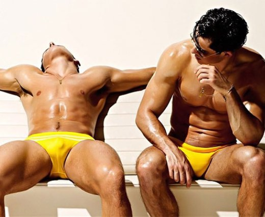 Yellow Speedos