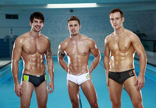 3 Speedo Guys
