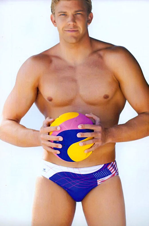American Speedo Waterpolo Player