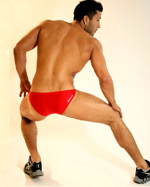 Red Speedos
