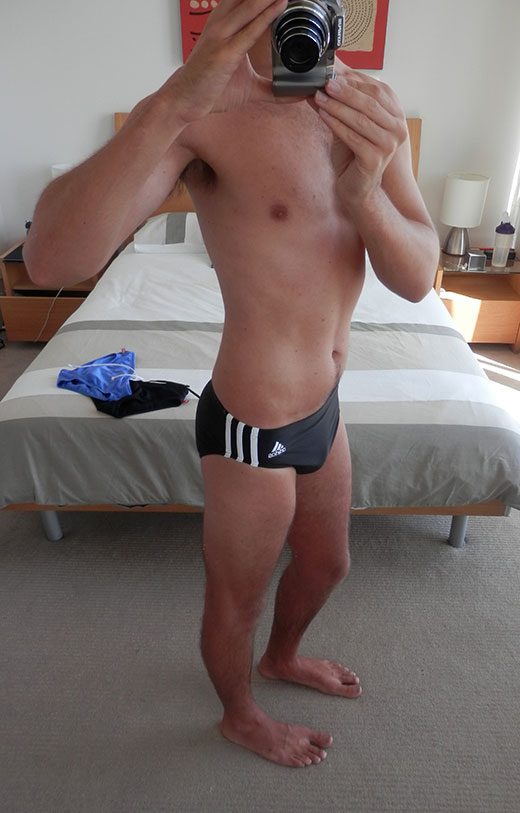 ADIDAS 3-Stripe Speedos