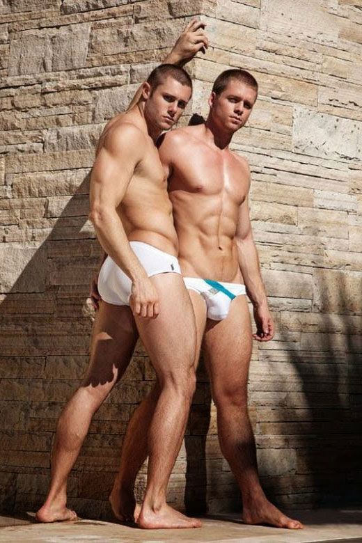 White Speedo Guys