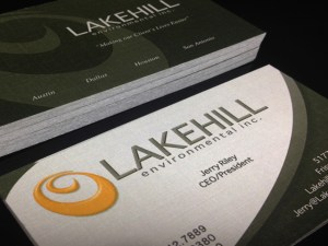 Landscaper Business Card Design Example