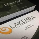 Landscaper Business Card Design Example