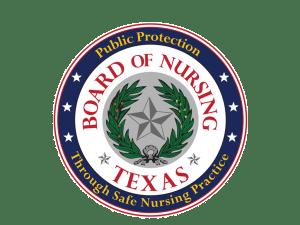 Texas Board of Nursing logo