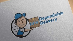 dfw-dependable-delivery-service-logo-design-big-hit-creative-group