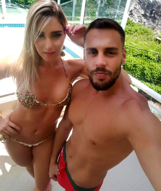 Sexy Couple in Swimsuits