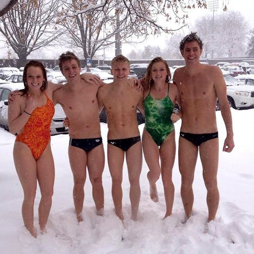 Speedo in the Snow