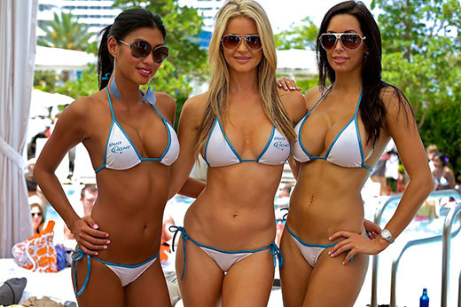 Three Bikinis