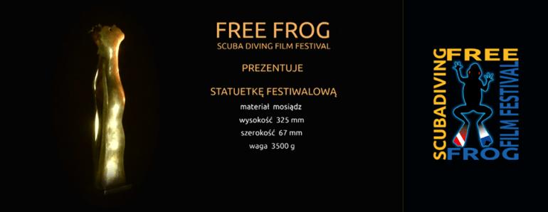 Bluelife.pl_nurkowanie_freefrog_statuetka