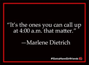 girlfriends Marlene Dietrich