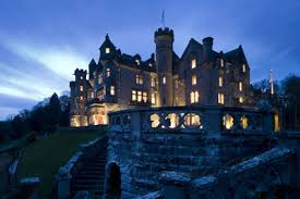 I want to stay in this castle in Dornoch when I return.