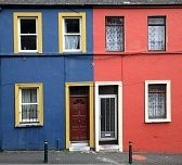 Ireland likes color.