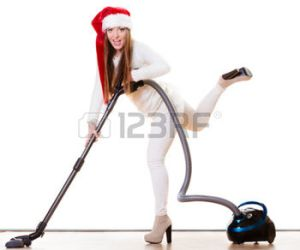 Whoo-hoo, I got a vacuum cleaner for Christmas!
