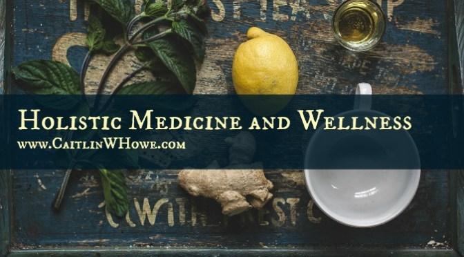 Holistic Medicine and Wellness Diagram