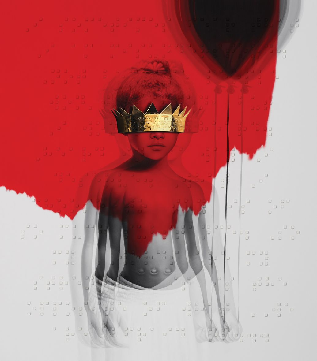 Rihanna Finally Releases The Title And Album Art For Her 8th