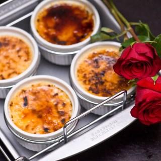 How do I love thee? With Orange Crème Brûlée