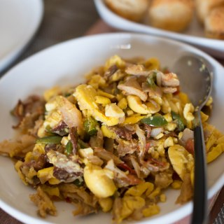 My mother's Jamaican Ackee and Saltfish