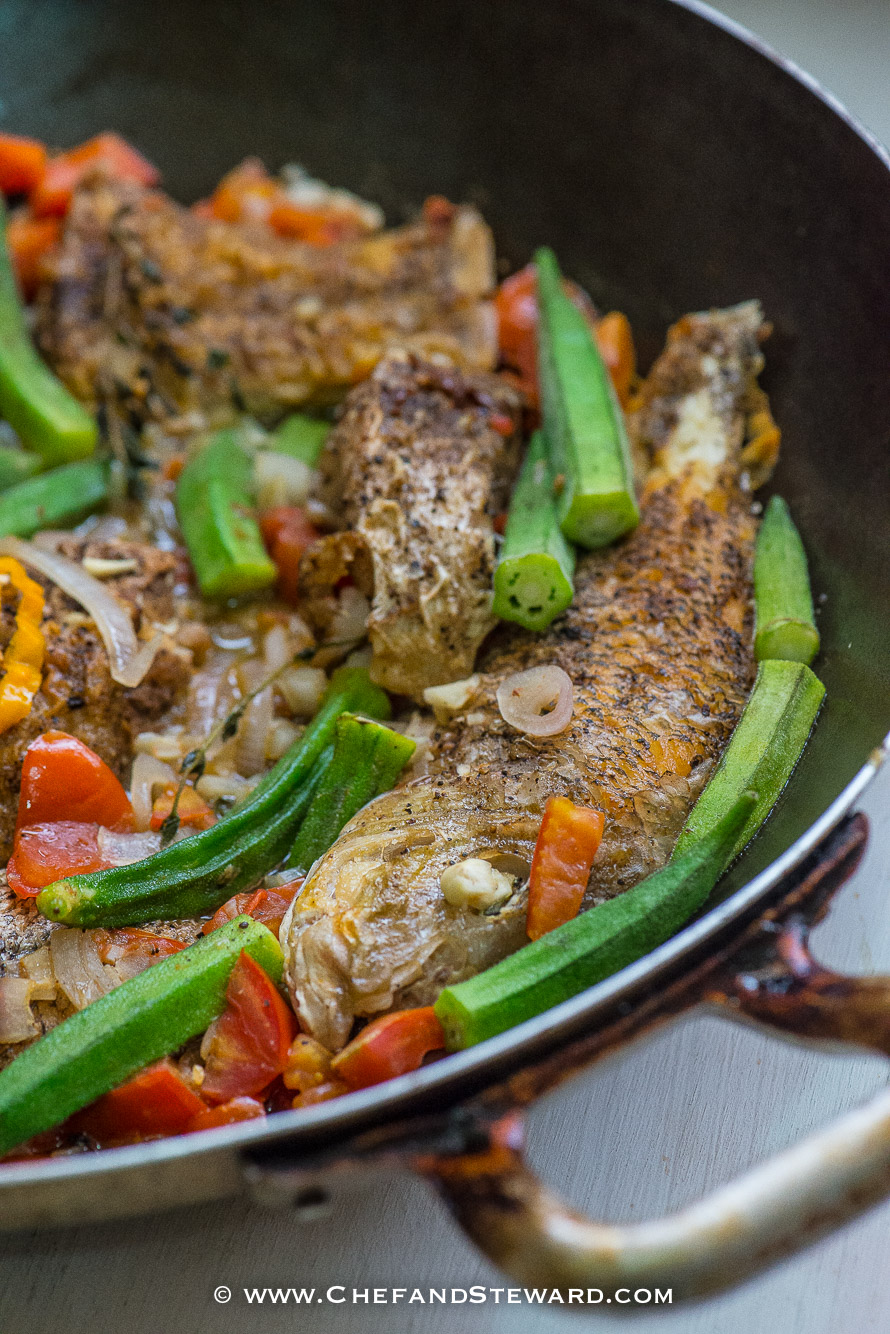 Jamaican Brown Stew Fish for Healthy Ramadan Recipe -5
