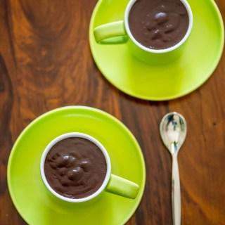 Homemade Nutella Chocolate Pudding
