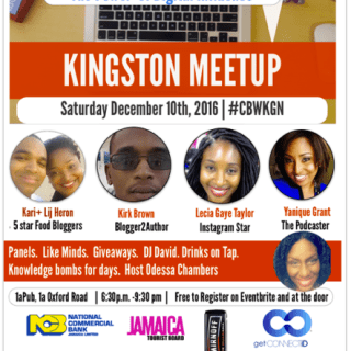 We're panelists for Caribbean Bloggers Week 2016!