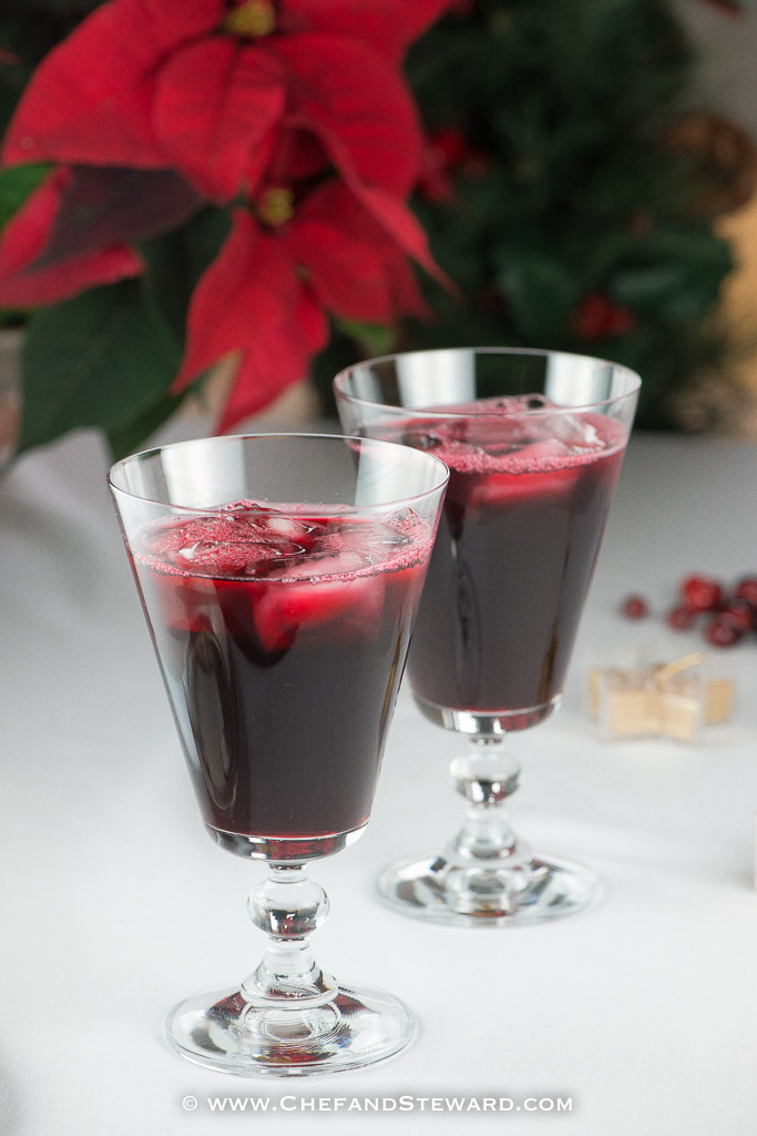 Jamaican Christmas Sorrel Drink