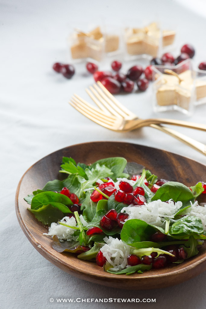 Tropical Christmas Salad for a Jamaican, Caribbean and Island Style Holiday Table