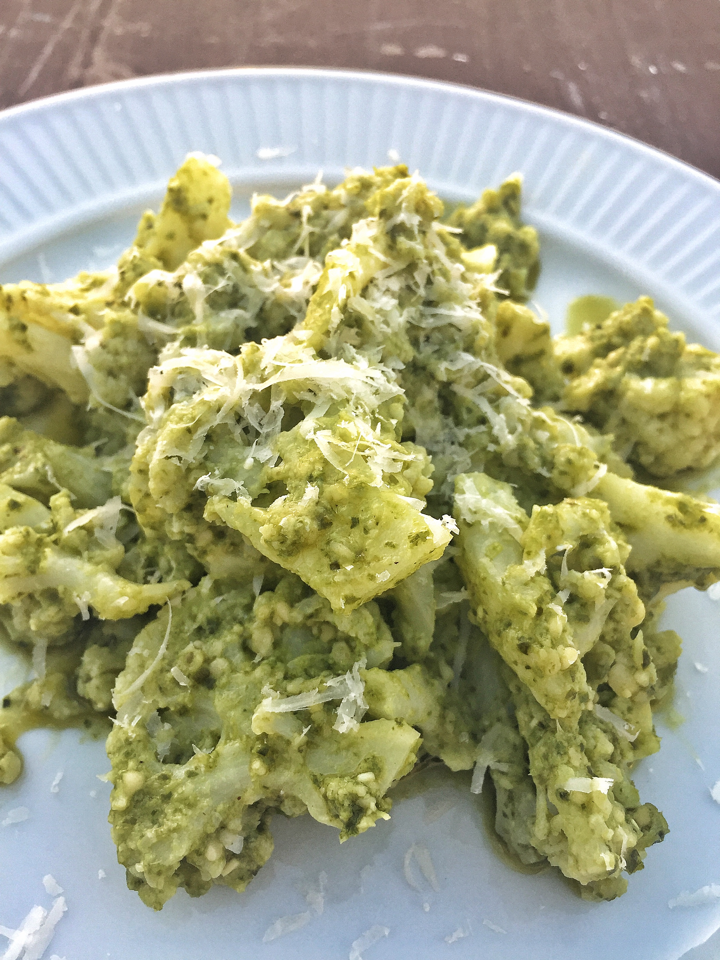 Cauliflower Pesto Pasta