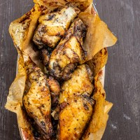 BEST Air Fryer Chicken Wings with 3 ingredients in 15 mins Jamaican Jerk