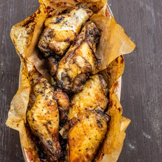 Air fryer chicken wings