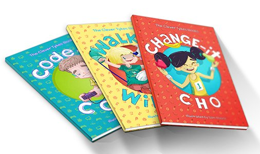 Clever Tykes Educational Books