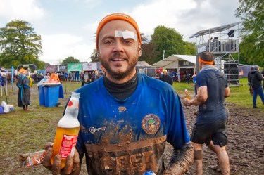 Tough Mudder North West 2017 Jamie Finish