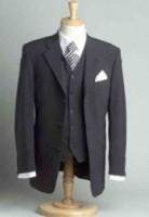 Typisch pak voor ouderwetse makelaar