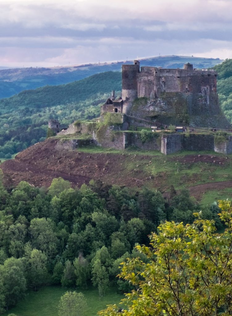 Cantal Auvergne Medieval Castle Chateau - Deep Heart of France