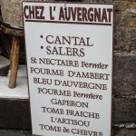 Salers - Cheese shop