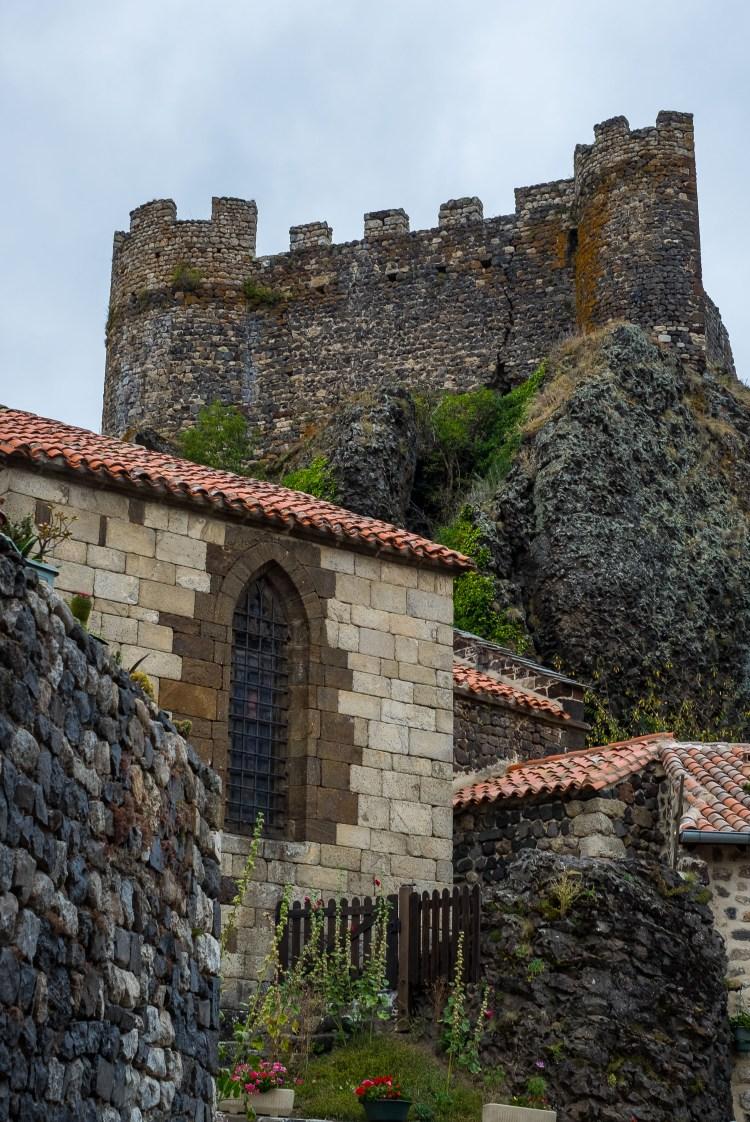 Arlempdes Auvergne Medieval Castle Chateau